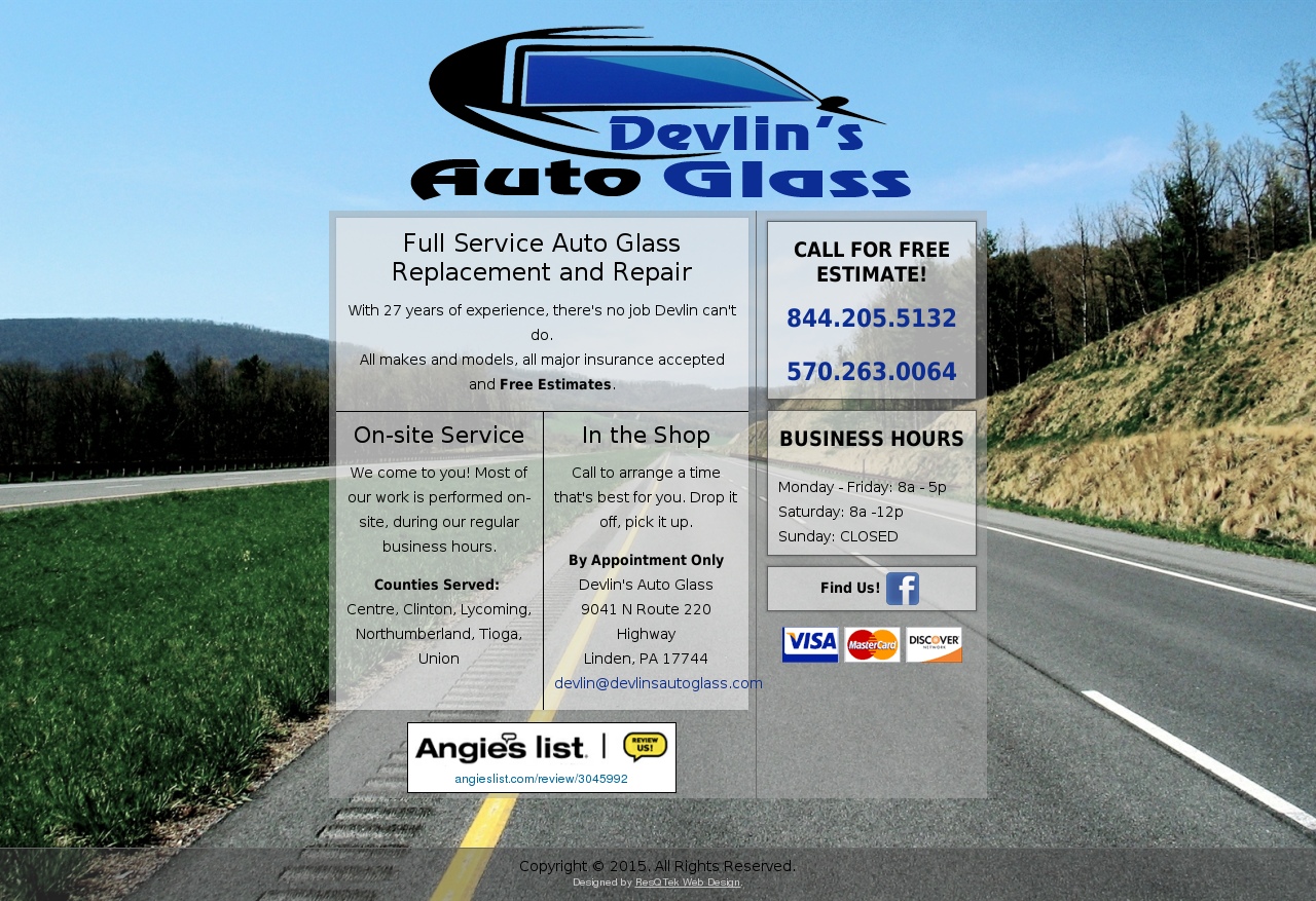 Devlin's Auto Glass