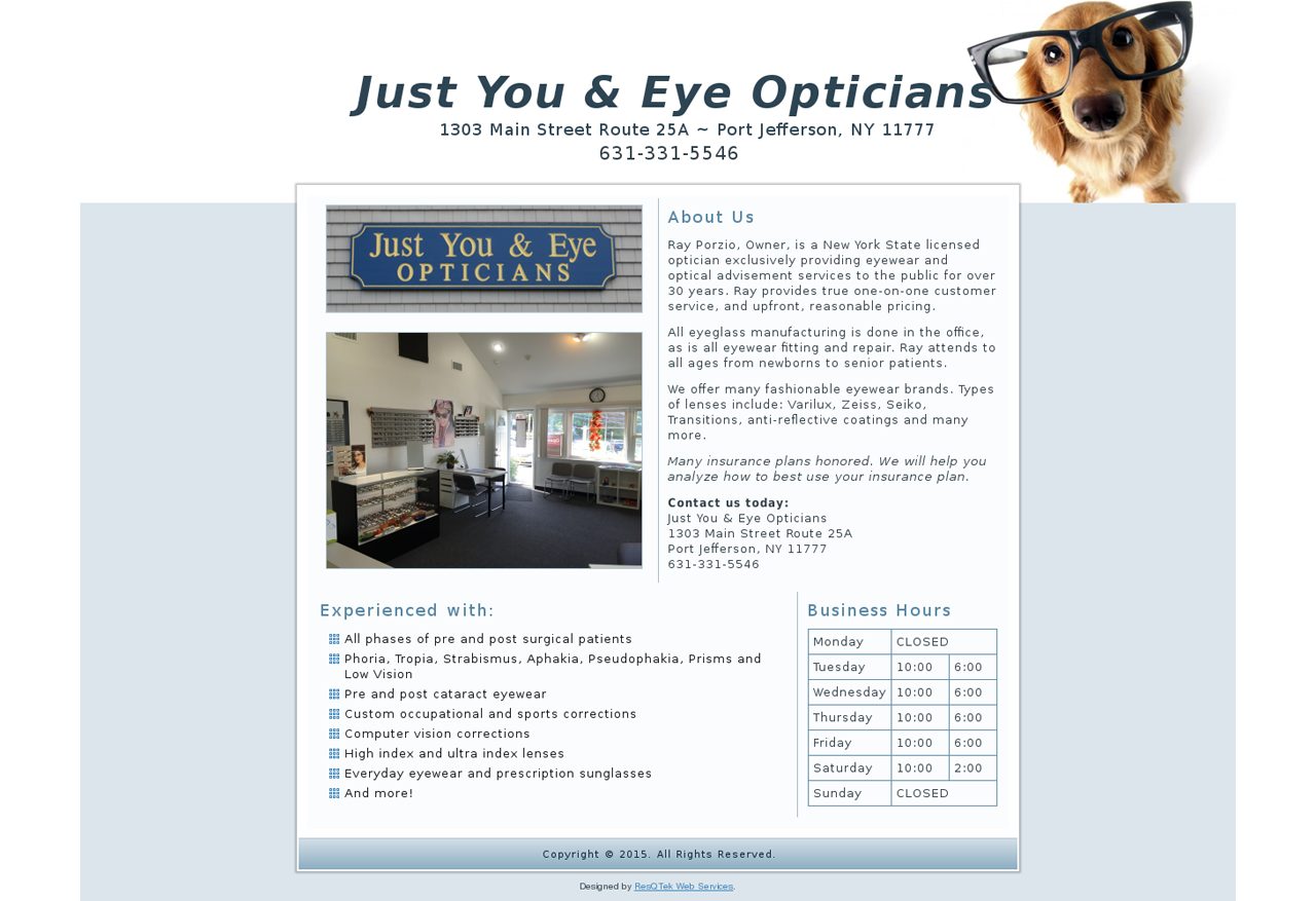 Just You & Eye Opticians